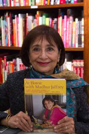 Madhur Jeffrey Indian Cooking Cookbook and Life story