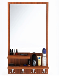 BLUEWUD Rico Wall Hanging Dressing Table/Mirror