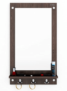 Anikaa Kia Dressing Table Mirror with Hanging Hook (Wenge)